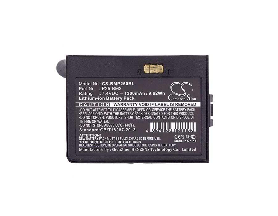 Blue Bamboo P25i-M Battery - BG-BMP250BL3