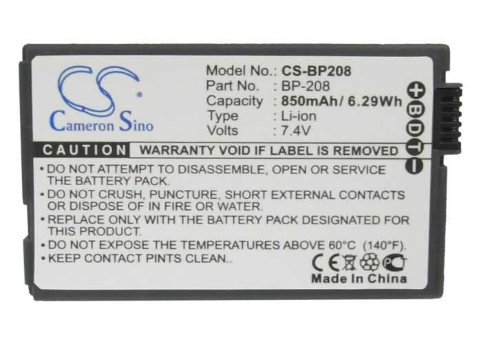 Canon BP-208DG Battery - BG-BP2083
