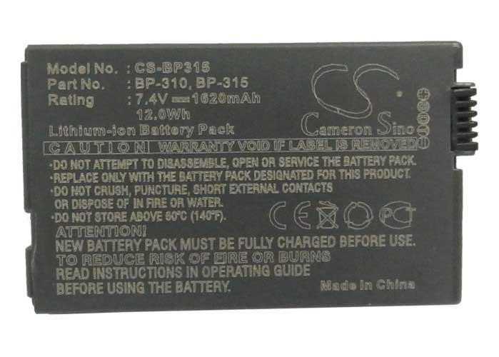 Canon BP-315 Battery - BG-BP3153