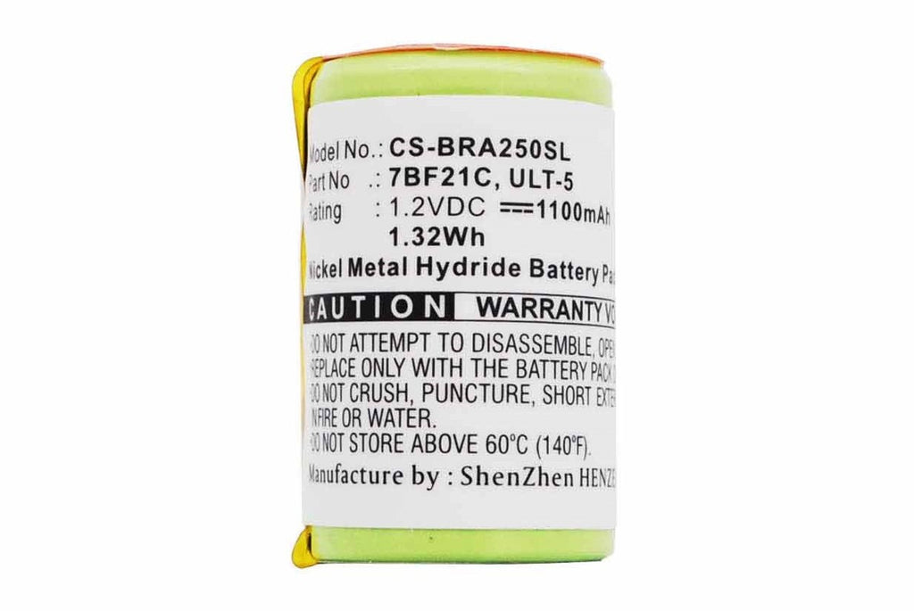 Braun 3512 Battery - BG-BRA250SL3