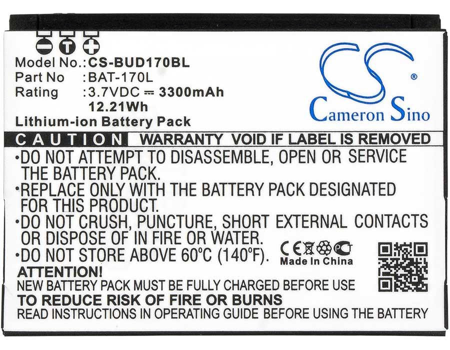 Bluebird Pidion BM-170 Battery - BGBUD170BL3