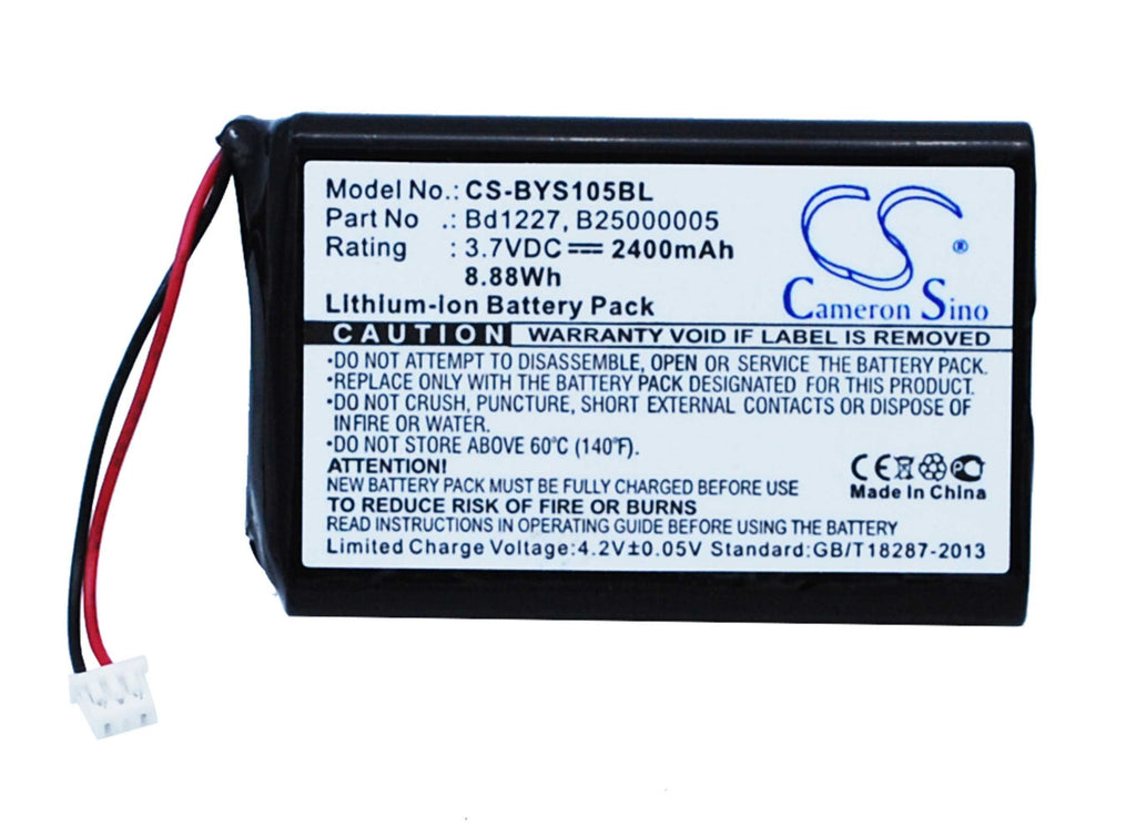 Baracoda Ingenico RoadRunners Evolution BRR-L Battery - BG-BYS105BL2