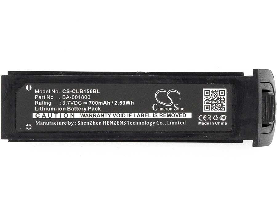 CipherLab BA-001800 Battery - BGCLB156BL3
