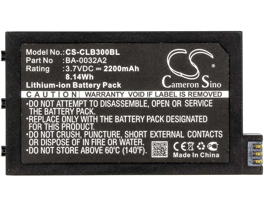 CipherLab CP30 Battery - BG-CLB300BL3