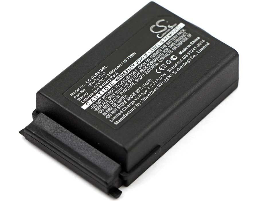 CipherLab 9400 Battery - BG-CLB930BL2