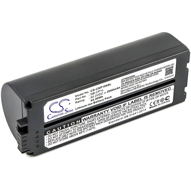 Canon Selphy CP-710 Photo Printer Battery - BGCNP100SL2
