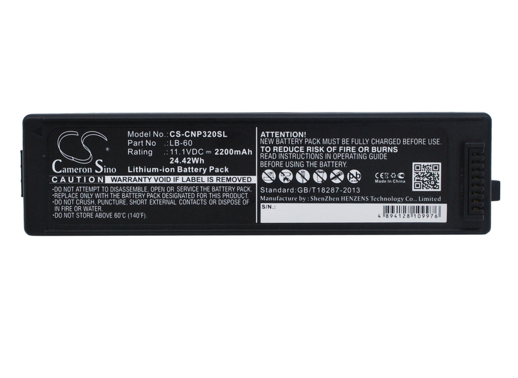 Canon LK-62 Battery - BG-CNP320SL3