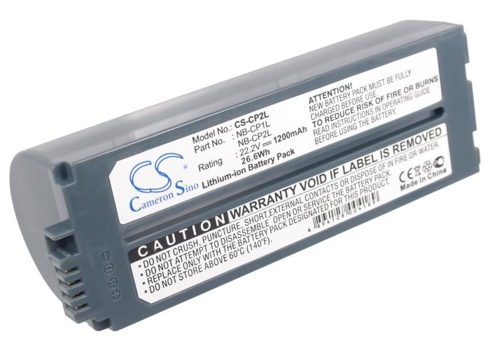 Canon Selphy CP-710 Photo Printer Battery - BG-CP2L3