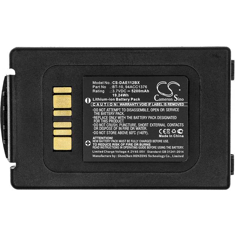 Datalogic 94ACC1377 Battery - BG-DAE112BX3