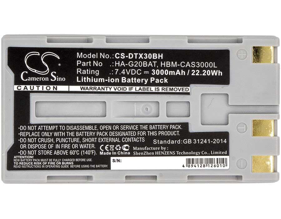 Casio IT-9000 Battery - BG-DTX30BH3