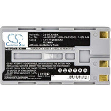 Load image into Gallery viewer, Casio HA-G20BAT Battery - BG-DTX30BX3