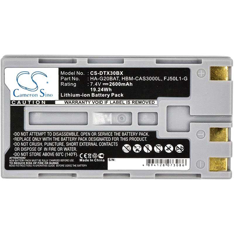 Casio DT-X30 Battery - BG-DTX30BX3