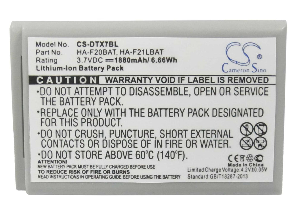 Casio DT-X7M10R Battery - BG-DTX7BL3