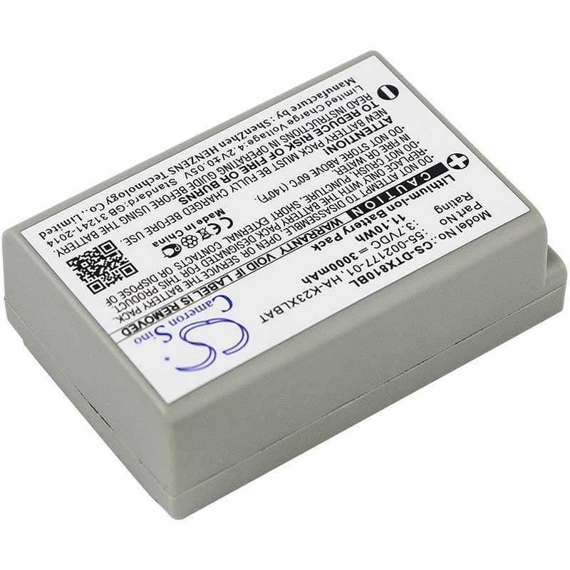 Casio 55-002177-01 Battery - BG-DTX810BL2