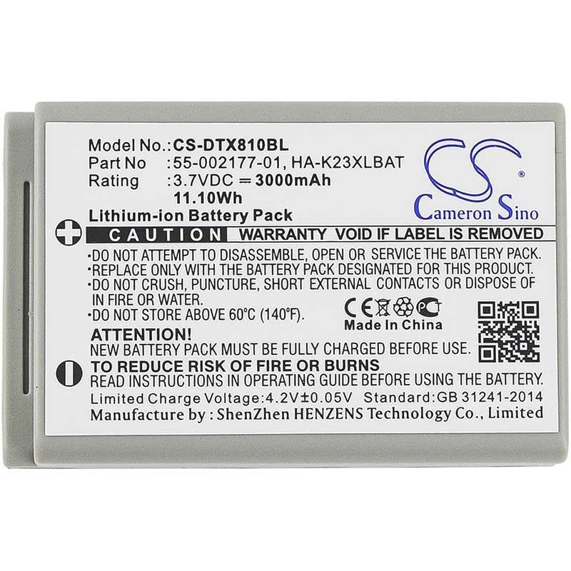 Casio 55-002177-01 Battery - BG-DTX810BL3