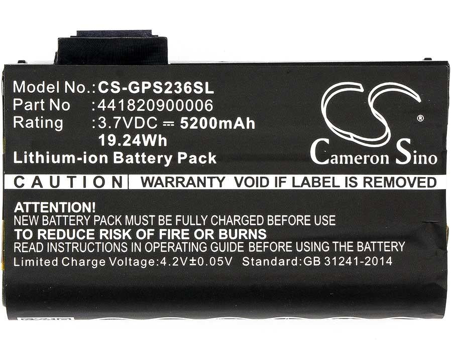 Getac PS236 Battery - BG-GPS236SL3