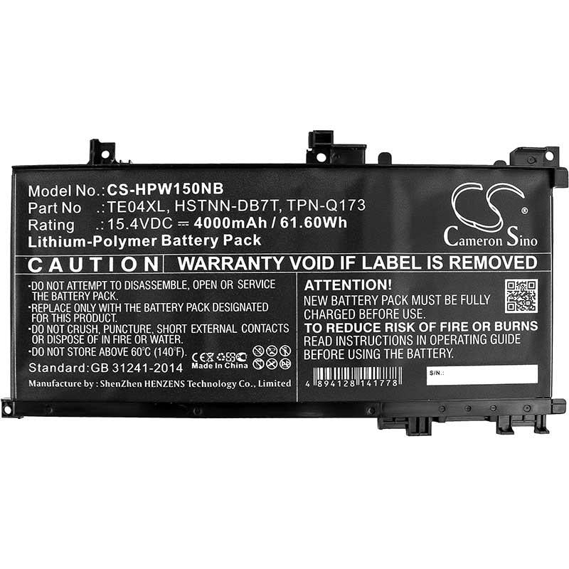 HP TPN-Q173 Battery - BGHPW150NB