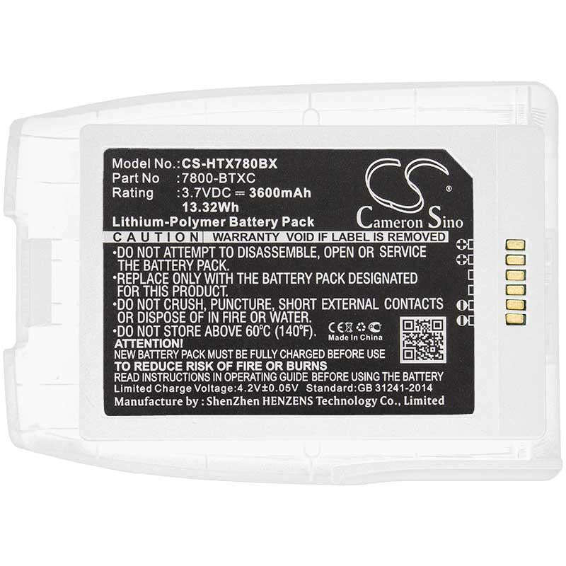 Honeywell 7800-BTXC-1 Battery - BG-HTX780BX3