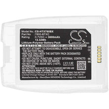 Load image into Gallery viewer, Honeywell 7800-BTXC Battery - BG-HTX780BX3