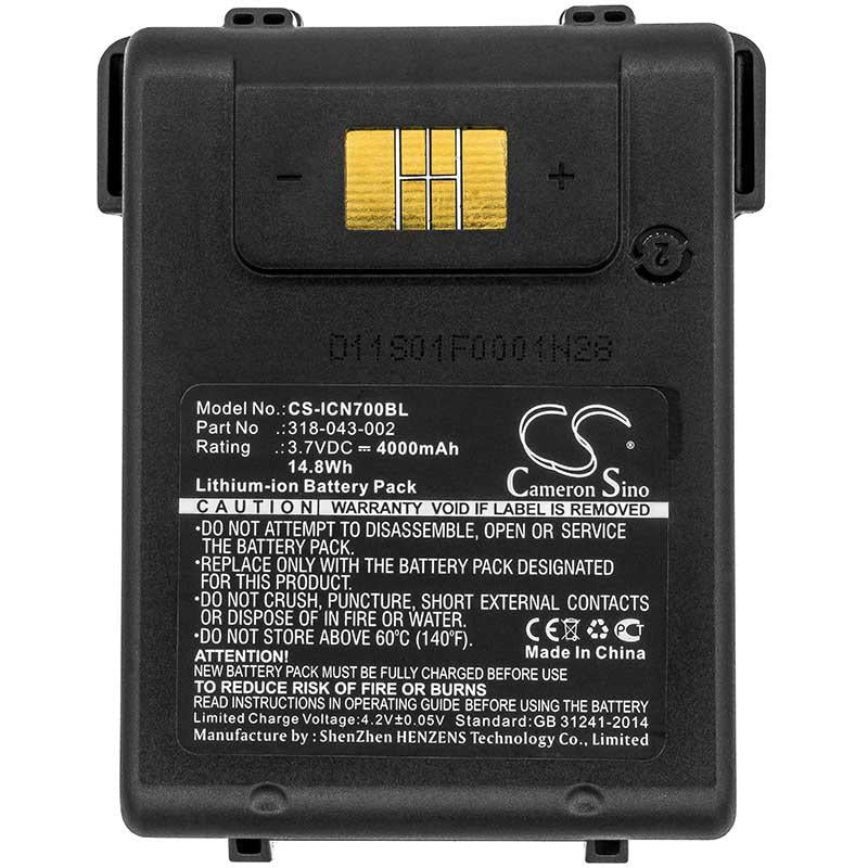 Intermec Norand 318-043-012 Battery - BG-ICN700BL3