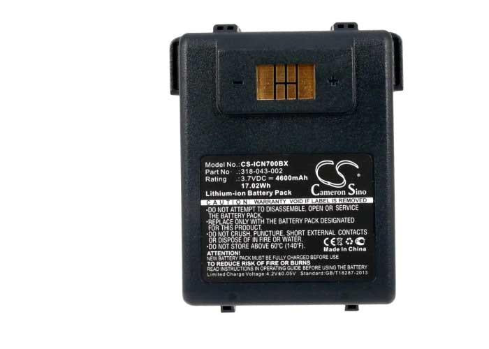 Intermec Norand 318-043-012 Battery - BG-ICN700BX3