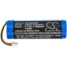 Load image into Gallery viewer, Intermec Norand SG20B2D Battery - BG-ISG200BL3