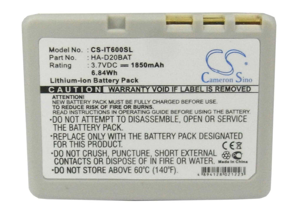 Casio HA-D21LBAT Battery - BG-IT600SL3