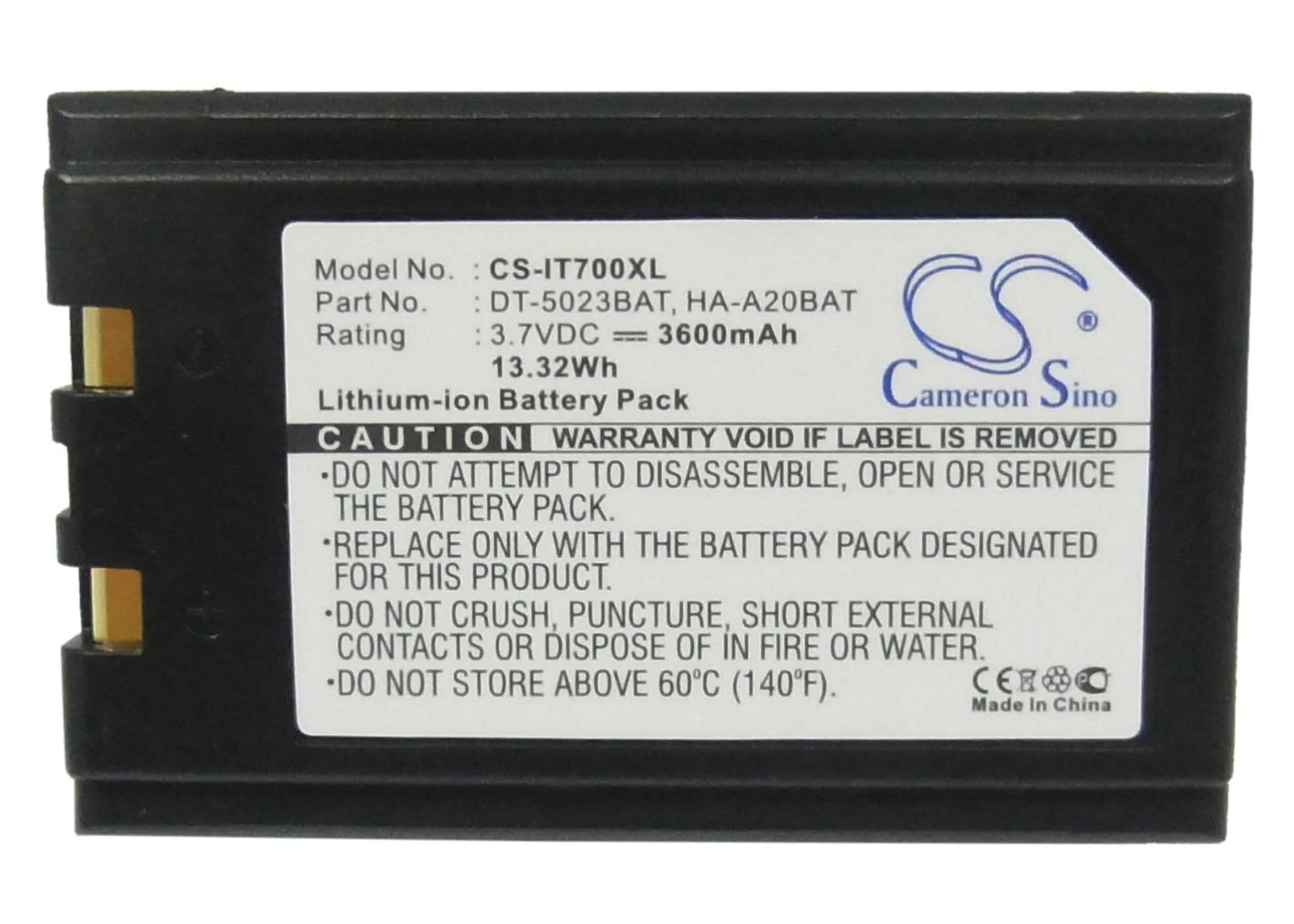 Motorola Symbol 21-52319-01 Battery - BGIT700XL3