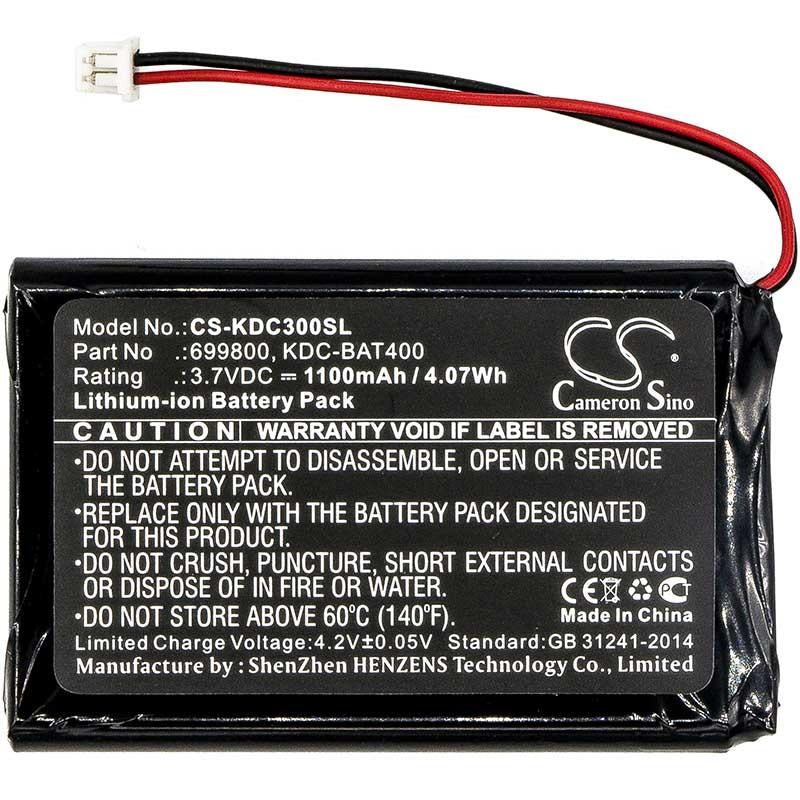 KOAMTAC 699800 Battery - BG-KDC300SL3