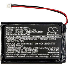 Load image into Gallery viewer, KOAMTAC KDC-350R2 Battery - BG-KDC300SL3