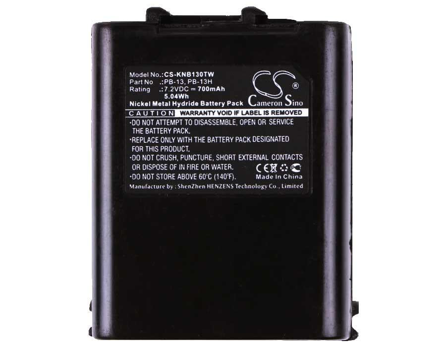 Kenwood TK-330 Battery - BG-KNB130TW3