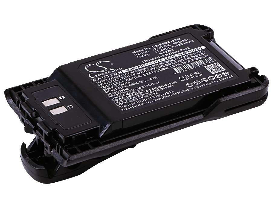 Kenwood TK-3501 Battery - BG-KNB630TW2
