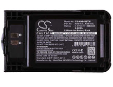 Load image into Gallery viewer, Kenwood TK-U100 Battery - BG-KNB630TW3