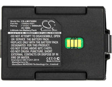 Load image into Gallery viewer, Honeywell LXE MX7 Battery - BG-LMX700BX3