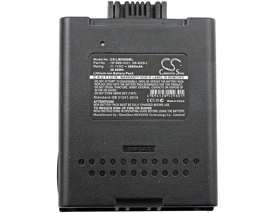 Honeywell LXE MX9381 Battery - BG-LMX900BL3