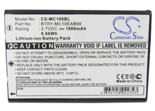 Load image into Gallery viewer, Motorola Symbol 55-060126-02 Battery - BG-MC100BL3