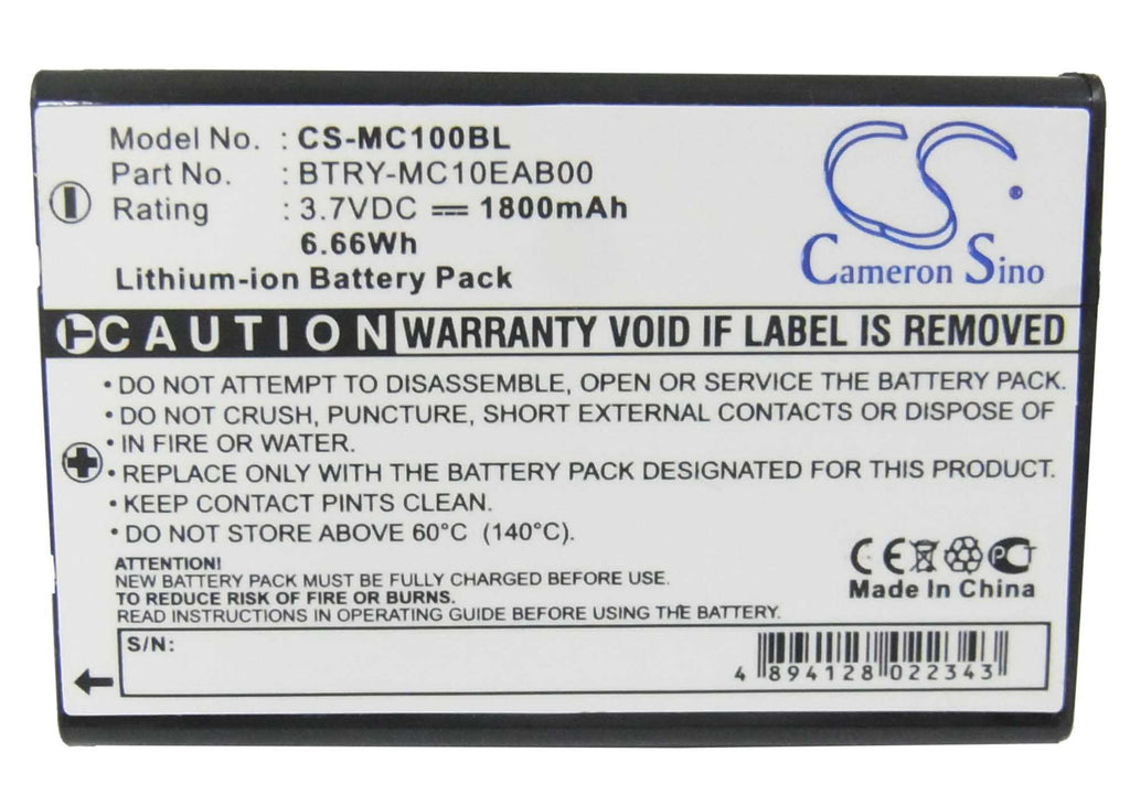 Mobila PPT101 Battery - BG-MC100BL3