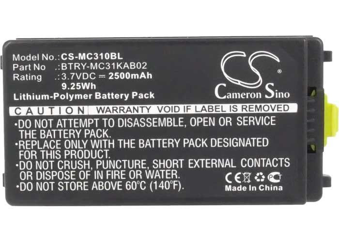 Motorola Symbol 82-127909-02 Battery - BG-MC310BL3