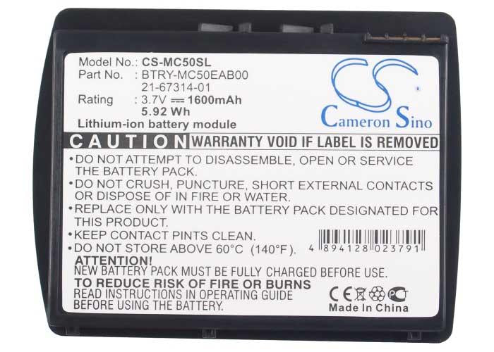 Motorola Symbol 21-67314-01 Battery - BG-MC50SL3