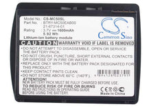 Load image into Gallery viewer, Motorola Symbol 21-67314-01 Battery - BG-MC50SL3