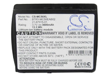 Load image into Gallery viewer, Motorola Symbol BTRY-MC50EAB02 Battery - BG-MC50XL3