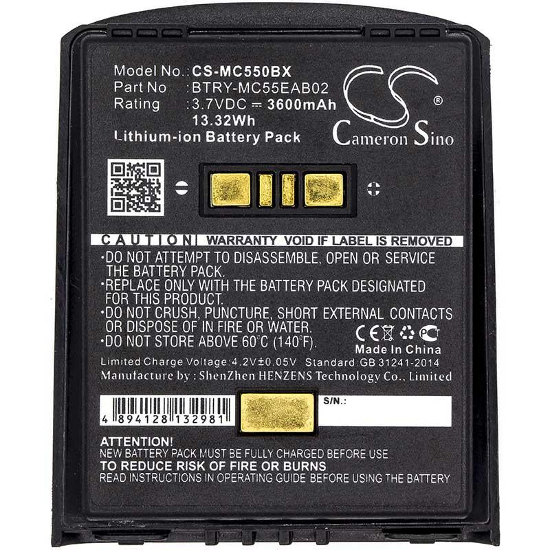 Motorola Symbol BTRY-MC55EAB02-10 Battery - BG-MC550BX3