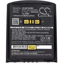 Load image into Gallery viewer, Motorola Symbol BTRY-MC55EAB02-10 Battery - BG-MC550BX3