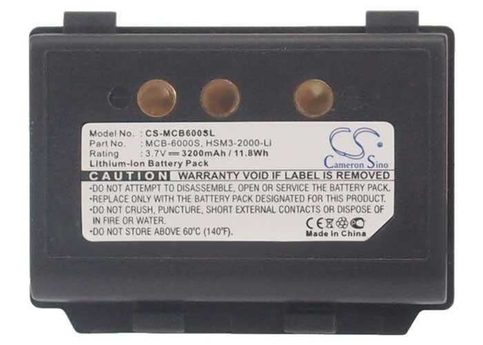 M3 Mobile MCB-6000S Battery - BG-MCB600SL3