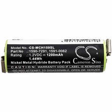 Load image into Gallery viewer, Moser 1591-0062 Battery - BG-MCH159SL3