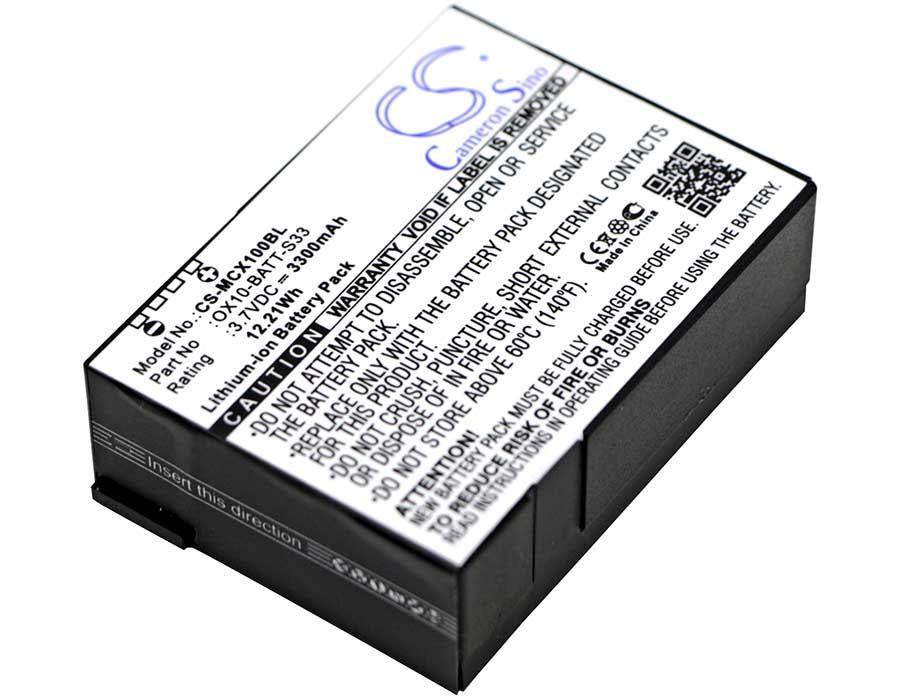 M3 Mobile OX10 Battery