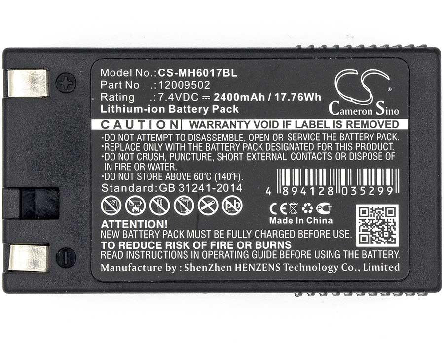 Avery-Dennison 12009502 Battery - BGMH6017BL3