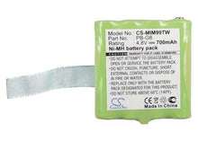 Load image into Gallery viewer, Midland SM400 Battery - BG-MIM99TW3