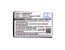 Load image into Gallery viewer, Motorola DLR1020 Battery - BG-MRP446TW3