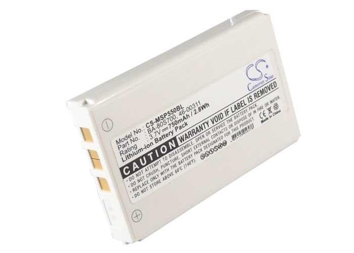 CipherLab 33-KB1B3770000L3 Battery - BG-MSP550BL3